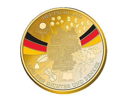 Ehrenprägung Deutschlandtaler 2018 Mdm Deutsche Münze