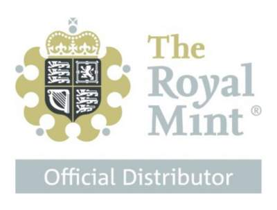 BNT is an official Royal Mint distributor