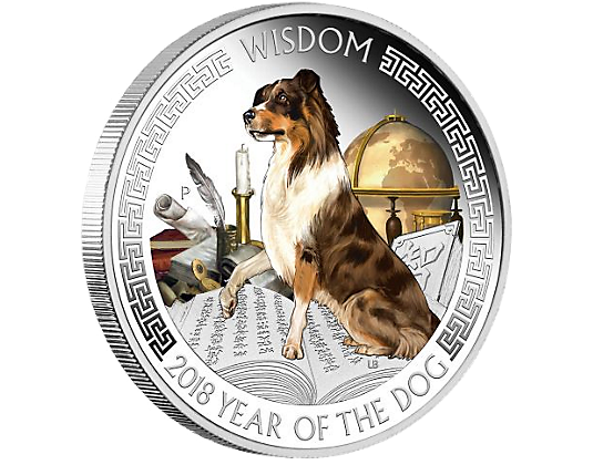 Wealth Amp Wisdom 2018 Year Of The Dog 1oz Silver Proof