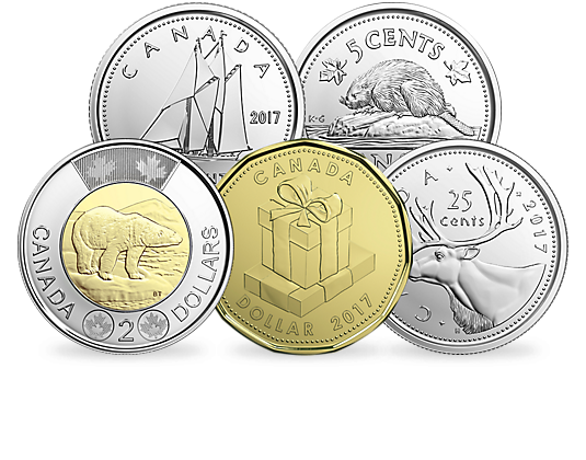 Silbermünze Kanada 2017 Geschenk Set Mdm Deutsche Münze