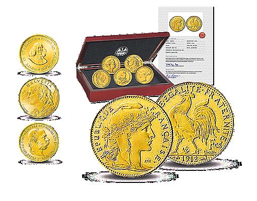 Berühmtesten Goldmünzen der Welt | MDM Deutsche Münze