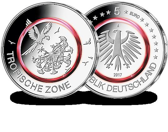 Neues 5 Euro Münze