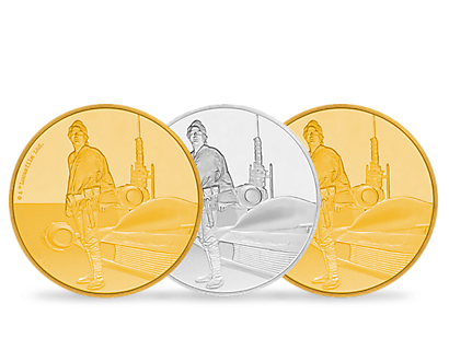 Star Wars Classic - Luke Skywalker Commemorative Coins