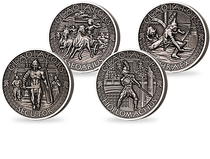 Gladiators Silver Coin Collection 2017