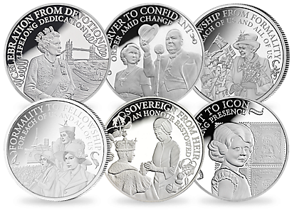 The Princess to Monarch Silver Coin Collection