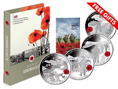 100 Years of Remembrance Silver Coin Collection