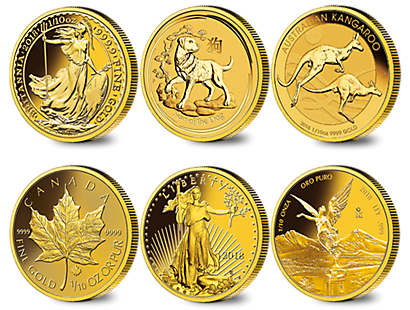 Own the Most Magnificent Gold Coins from Around the World