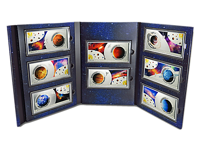 Planets of the Solar System Silver Notes