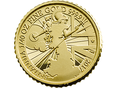 Britannia 2017 Fortieth-Ounce Gold Proof Coin