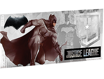 Justice League Series - Batman™ 5g Silver Coin Note PLUS Collector's Album