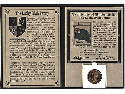 Lucky Irish Penny Album