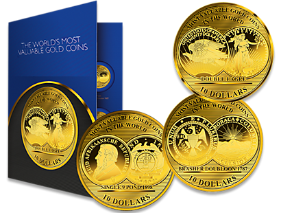 Pure Gold Million Dollar Coin Collection 2017