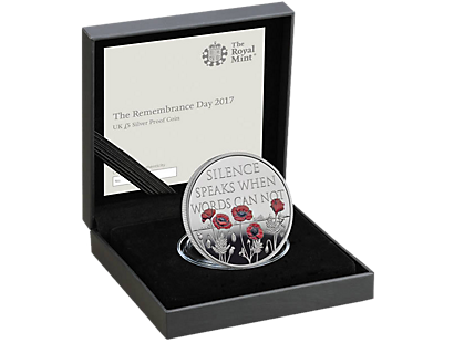 The Remembrance Day 2017 £5 Silver Proof Coin