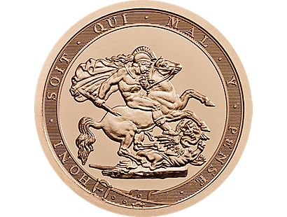 The Sovereign 2017 Strike On The Day Anniversary Piece Gold Coin