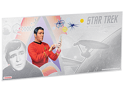 Star Trek Original Series – Scotty Silver Coin Note