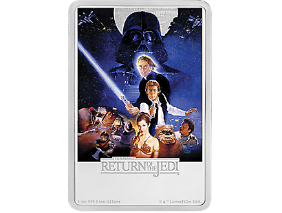 Star Wars - Return of the Jedi 1oz Silver Coin