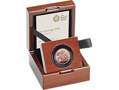 The Royal Mint's Sovereign 2018