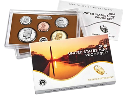 United States Mint Proof Set 2018