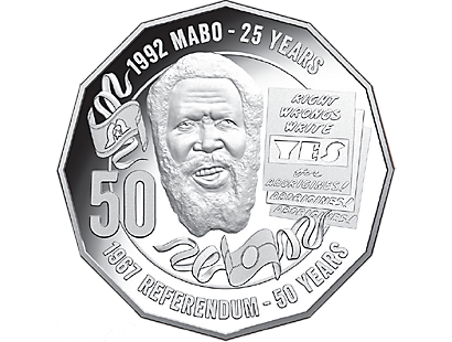 Pride and Passion Eddie Mabo 2017 50c Fine Silver Proof Coin