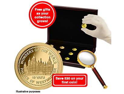 The Iconic 14-Karat Gold Coins Collection 2017