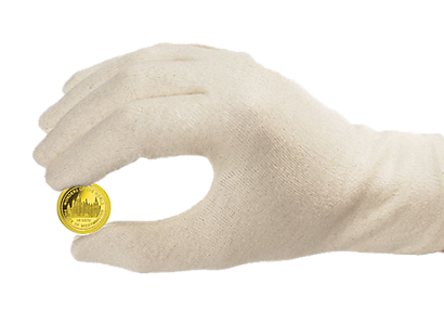 Coin Collector's Cotton Gloves