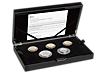 The Royal Mint 2018 Silver Proof Commemorative Coin Set