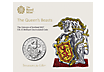 The Royal Mint Queen's Beasts - The Unicorn of Scotland 2017 £5 Brilliant Uncirculated Coin