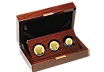 The Britannia 2018 Premium Three-Coin Gold Proof Set