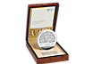 The Platinum Wedding Anniversary 2017 Silver Proof £500 Kilo Coin