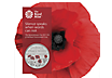 The Remembrance Day 2017 £5 Brilliant Uncirculated Coin