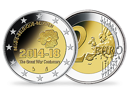 100 Years of the First World War Official €2 Commemorative Coin