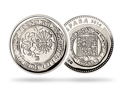 10 Euro Spain 2014 Queen Isabella I of Castile & King Ferdinand II