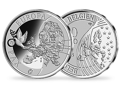 Peace in Europe 2015 €10 Euro Gold Coin