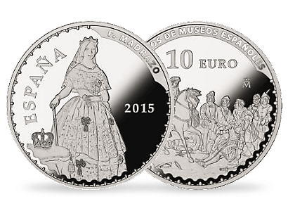 Treasures of Spanish Museums - Federico de Madrazo €10 Euro Silver Coin