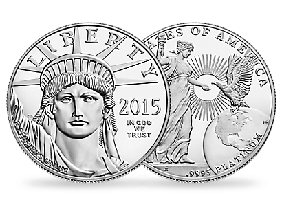 American Eagle 2015 $100 Platinum Coin