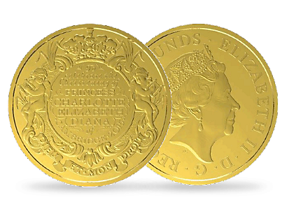 The Christening of the Princess 2015 £5 Pure Gold Coin