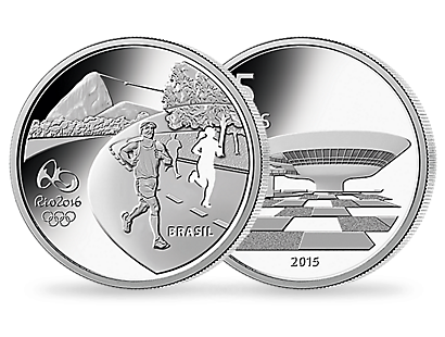 Rio 2016 - Olympics Athletics coin