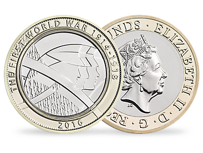 'The Army' £2 Brillant Uncirculated Coin 2016 UK