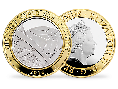 The Army 2016 UK £2 Silver Proof Coin