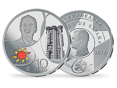 10 Euro silver Spain 2016 - The Contemporary Era