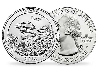 Shawnee National Forest 2016 - Five Ounce Silver Coin