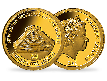 Chichen Itza Gold Coin - 2011