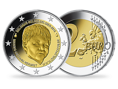 2-Euro-Gedenkmünze Belgien 2016 'Organisation Child Focus'