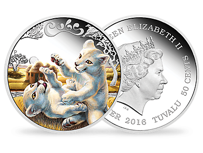 The Cubs – Lions 2016 1/2oz Silver Proof Coin