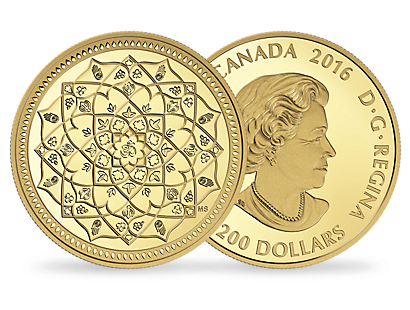 1 oz. Pure Gold Coin – Diwali: Festival of Lights