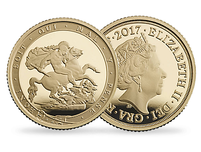 Großbritannien 2017 'The Quarter Sovereign'