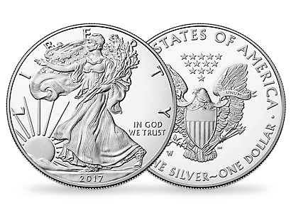 USA 2017 1-Dollar 'Silver Eagle' PP