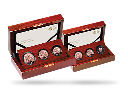 2018 Sovereign Gold Premium Sets