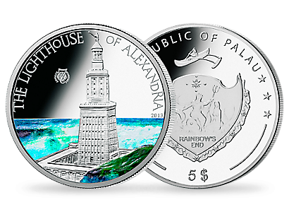 The Lighthouse of Alexandria 2013 Silver Coin