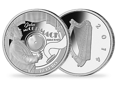 Count John McCormack 2014 €10 Silver Proof Coin